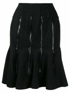 Comme Des Garçons Pre-Owned zipper vent skirt - Black