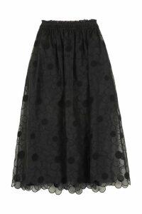 Moncler Embroidered Skirt