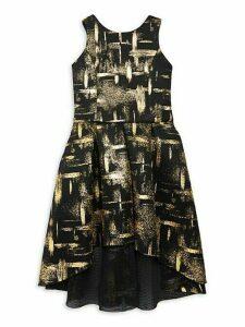 Girl's Muse High-Low Mesh Dress