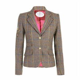 The Extreme Collection - Checkered Blazer Dublin Couture Brown