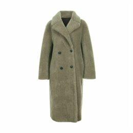 blank 03 - Reversible Wool Shearing Coat Grey