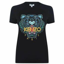 Kenzo Tiger Logo T Shirt