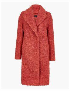 M&S Collection Bouclé Chuck on Coat