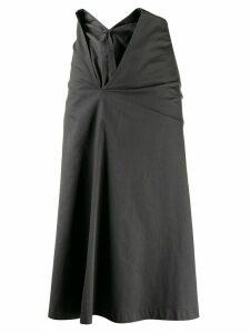 Comme Des Garçons Pre-Owned 1999 slashed waist skirt - Grey