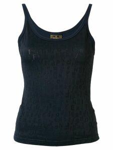 Fendi Pre-Owned logo vest - Blue