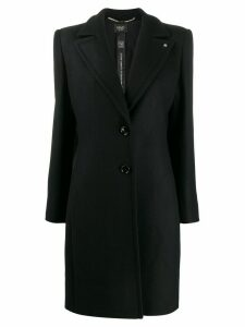 LIU JO mid-length single-breasted coat - Black