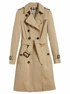 Burberry The Chelsea Long Trench Coat - NEUTRALS