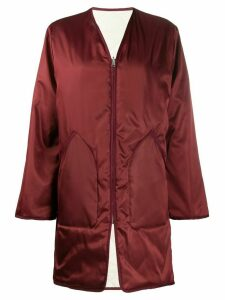 Filippa-K York quilted reversible coat - Red