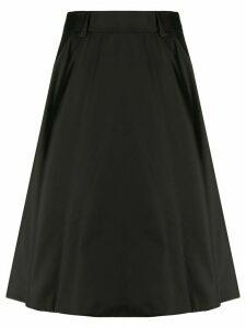 Prada mid-length A-line skirt - Black