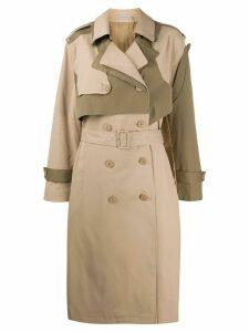 Preen Line Adel trench coat - NEUTRALS