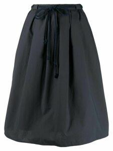 Odeeh drawstring waist skirt - Blue