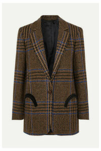 Blazé Milano - Cariba Weekend Checked Wool-blend Tweed Blazer - Brown