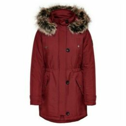 Only  15141837 LIRIS PARK  women's Parka in Red