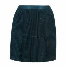 Jack Wills Alburgh Skirt - Green Geo Print