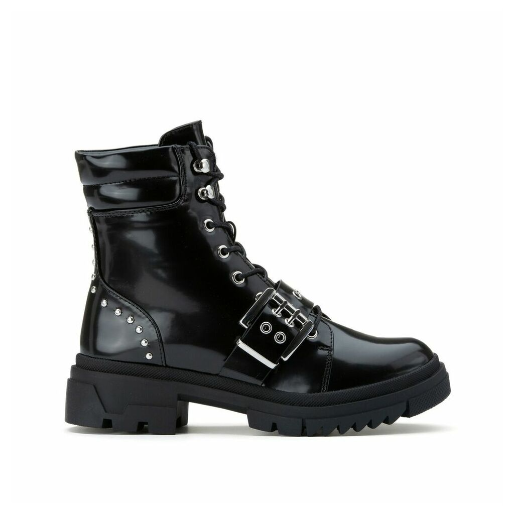 Tri Boots with Buckle