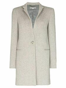 Stella McCartney single-breasted wool coat - Grey