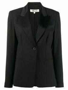 Diane von Furstenberg one-button blazer - Black