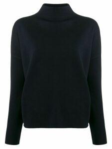 Falke roll neck sweater - Blue