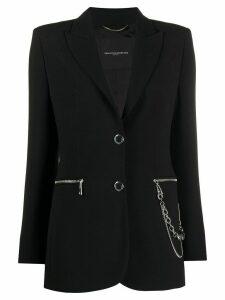 Ermanno Scervino chain linked blazer - Black