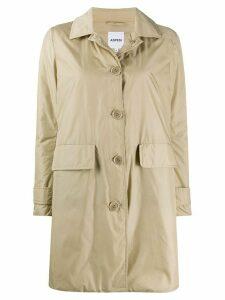 Aspesi button down New Albanella coat - NEUTRALS