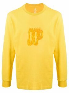 Converse playing with fire print sweatshirt - Yellow