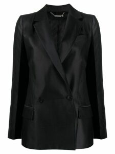 Givenchy plain double-breasted blazer - Blue