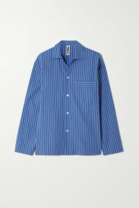 Balmain - Button-embellished Wool And Cashmere Blend Coat - Army green