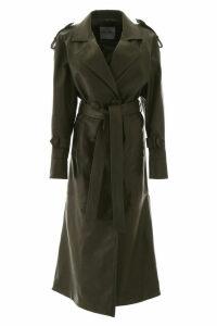 The Attico Leather Trench Coat