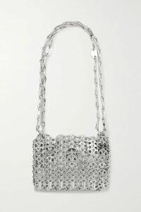 SAINT LAURENT - Striped Shearling Coat - Ivory
