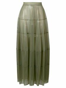 Jil Sander tulle skirt - Green