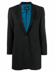PS Paul Smith longline single-breasted blazer - Black