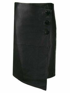 Ba & Sh Lana asymmetric skirt - Black
