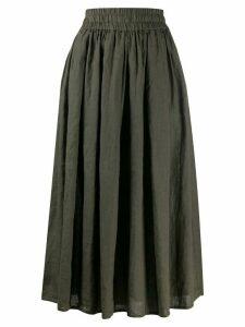 Aspesi A-line midi skirt - Green
