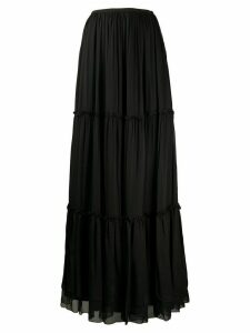 Federica Tosi tiered gathered skirt - Black