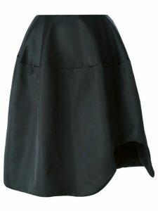 Simone Rocha asymmetrical voluminous skirt - Black