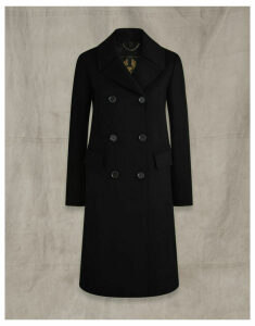 Belstaff OFFICERS COAT Black UK 6 /