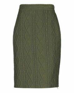 BOUTIQUE MOSCHINO SKIRTS Knee length skirts Women on YOOX.COM