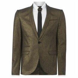 Label Lab Bonham Metalic skinny blazer