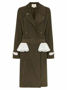 Rentrayage weekend in sandringham trench coat - Green
