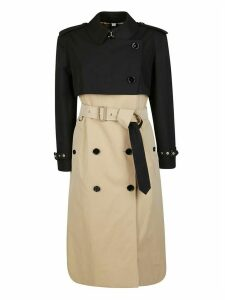 Burberry Double Breasted Trench Coat