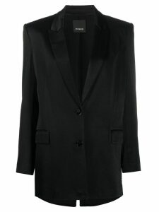 Pinko fringe panel blazer - Black