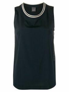 Lorena Antoniazzi sleeveless tank blouse - Blue