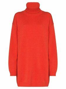 GAUGE81 oversized cashmere jumper - ORANGE
