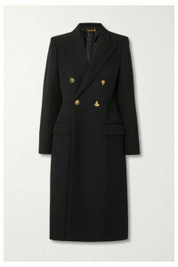 Givenchy - Double-breasted Wool-twill Coat - Black