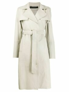 Federica Tosi belted trench coat - NEUTRALS