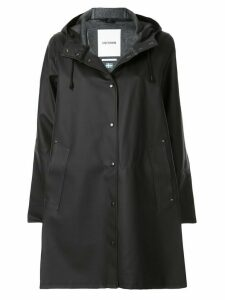 Stutterheim Mosebacke raincoat - Black