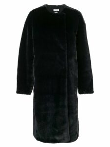 Jason Wu faux fur coat - Blue