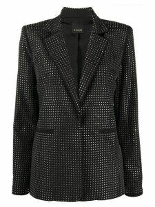 Pinko crystal embellished blazer - Black