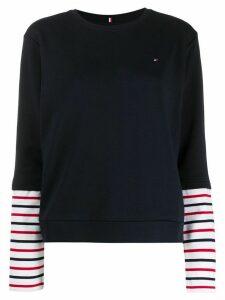 Tommy Hilfiger layered effect T-shirt - Blue