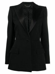 Givenchy single-button wool blazer - Black